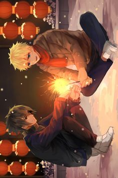 NaruSasu ------THIS PICTURE IS TOO CUTE!!---