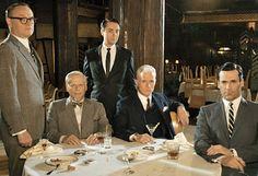 Mad Men: 7 hombres - 7 pecados capítales. ¿Quién representa qué?