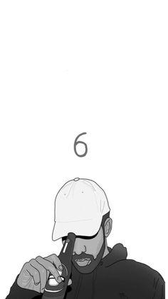 Drake 6 God Iphone 6 Wallpaper | Papéis de parede | Pinterest