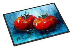 Vegetables - Tomatoes Red Toes Indoor or Outdoor Mat 18x27 Doormat