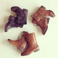 Combat Boots #swoonboutique I love my combat boots <3 I need a pair in black :)
