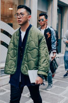 The Most Stylish Men in Paris Show You How to Dress This Summer Photos   GQ #StreetFashionStyle