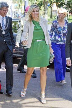 ♥•✿•QueenMaxima•✿•♥...8 September 2012, Amersfoort... Princess Maxima of Netherlands