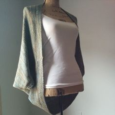 Whispering Willows Knit Shrug