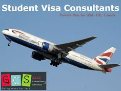 GCS is one of the best visa consultant only for student who wants to study in abroad. We are provides visa for USA, UK, New Zealand. To know more information visit our website.