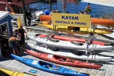 Kayak Rentals and Tours by Doug Hay, via Flickr