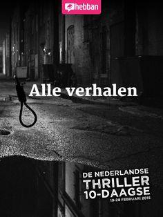 Alle korte verhalen van de Nederlandse Thriller 10-daagse 2015