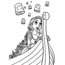 20 beautiful rapunzel coloring pages for your little girl rapunzel - Tangled Coloring Pages Girls