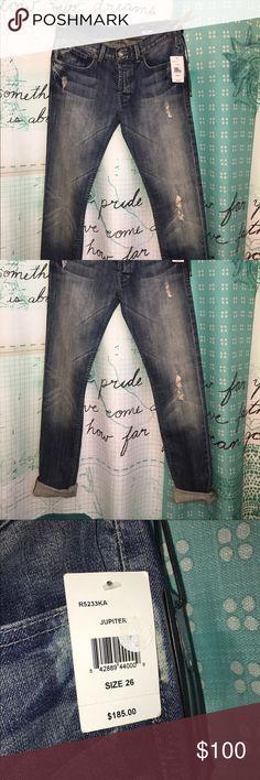 NWT William Rast Sami slouch  boyfriend jeans New with tags $185, boyfriend style William Rast Jeans Boot Cut