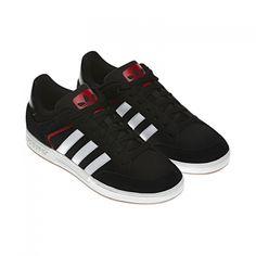 adidas Originals - Varial Low Black / University Red / Running White (Q33249) Back 2 School, Adidas Originals, Skate, Adidas Sneakers, Street Wear, University, Lovers, Running, Clothing