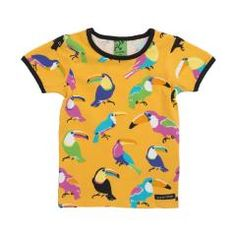 Toucan T Shirt - Mango Yellow