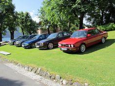30 Jahre BMW M5 beim Concorso d'Eleganza 2014