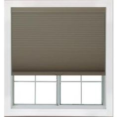 Redi Shade 47-in W x 72-in L Mocha Blackout Cellular Shade. Lowe's
