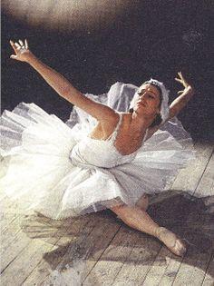Maya Plisetskaya in Fokine's The Dying SwanBolshoi photo archives