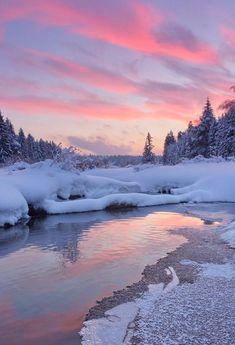 Winter Landscape, Landscape Photos, Winter Light, Winter Scenery, Snow Scenes, Winter Beauty, Winter Photography, Pretty Pictures, The Great Outdoors
