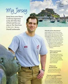Henry Cavill in Absolute Jersey Magazine ❤😘His love for his birth place is so Endearing ❤ The Tudors, Charles Brandon, Batman Vs Superman, Henry Superman, Clark Kent, Man Of Steel, Henry Cavill News, Henry Cavill Interview, Jersey Channel Islands