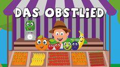 Das Obstlied - Kinderlieder zum mitsingen - Obst lernen - german fruit song