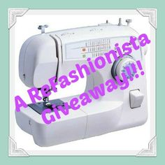 ReFashionista.net is giving away a brand new Brother XL-3750 to one lucky reader!