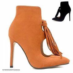 SKU: N7WWDZN9TG08V66 Colors: Black, Light Brown. Size: 37, 38, 39, 40. Price: US$51.09 | PKR 5399 Category: Shoes->Boots… #Vivoren #Fashion