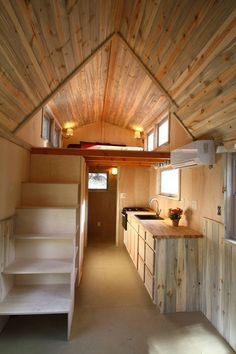 SimBLISSity Aspen 24' Tiny Home On Wheels - Tiny House for UsTiny House for Us