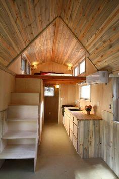 SimBLISSity Aspen 24' Tiny Home On Wheels - Tiny House for UsTiny House for Us