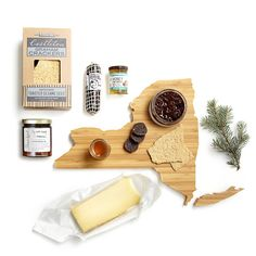 The Sweet and Savory cheese gift box by AHeirloom