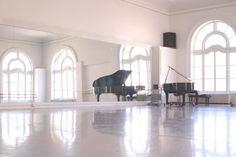 (12) Studio 1 - Alonzo King LINES Ballet  52 x 36 feet 1872 square feet Sprung floor Marley dance surface