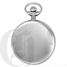 Charles Hubert 3543 pocket watch Stainless steel New with tags #CharlesHubert