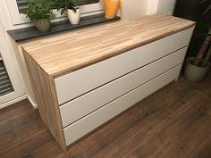 Dresser Malm Hack - Wood Edition