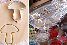 make your own #cookie cutter using aluminum foil. #baking