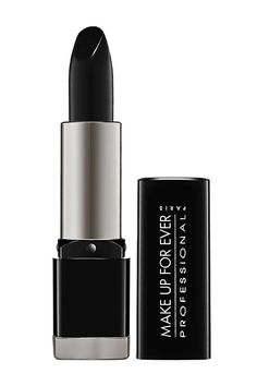 How To Wear Black Lipstick All Year Round #refinery29  http://www.refinery29.com/how-to-wear-black-lipstick#slide2  Find The Right Black  One would think that a black lipstick is, well, a black lipstick — but not all are created equal. A high-quality, matte version is a far cry from the waxy crayons in your local drugstore's Halloween aisle. On the indie circuit, Portland Black Lipstick Company and Lime Crime are cult favorites, while Make Up For Ever is one of a few mainstream brands that…