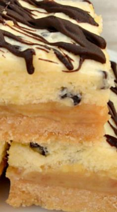 Millionaires Dessert Bars ~ Shortbread, gooey Caramel and smooth, creamy White Chocolate Mousse {a restaurant copycat recipe!}