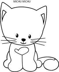 Resultado de imagem para desenhos de gato para aplique