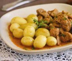 Receita Carne de porco em vinha d'alhos por Equipa Bimby - Categoria da receita Pratos principais Carne