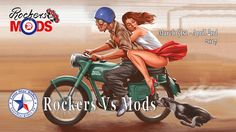 IMS Rockers Vs Mods At Rick Fairless Strokers Dallas 2017