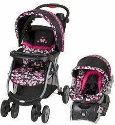 Baby Trend Envy Travel System Stroller w/ Infant Car Seat Savannah NEW
