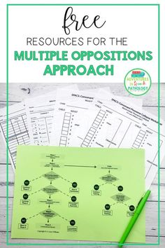 Free resources for the Multiple Oppositions approach to help your in speech therapy. Download free charts, data collection and analysis sheets. Speech Pathology, Speech Language Pathology, Speech And Language, Speech Therapy Activities, Language Activities, Articulation Therapy, Free Activities, Childhood Apraxia Of Speech