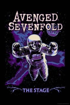 PRINT IMAGE PHOTO AVENGED SEVEN FOLD POSTER Live in Concert Collage 24X36