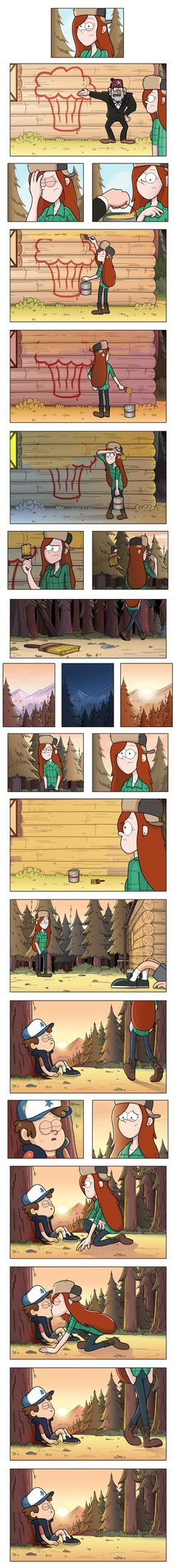 I'm part of many fandoms. This is mostly my Gravity Falls fandom side or my Judylwb Idoov fandom Dipper And Wendy, Dipper And Mabel, Gravity Falls Comics, Gravity Falls Art, Gavity Falls, Desenhos Gravity Falls, Reverse Falls, Disney Shows, Star Vs The Forces Of Evil