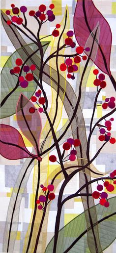 "Carol Taylor, ""Bountiful"" quilt"