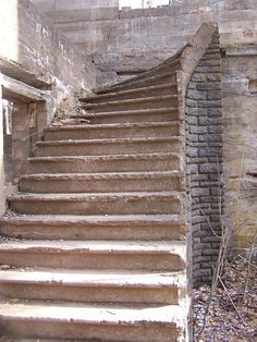 Stairs to Nowheres, via Flickr. Inside the ruins of the Catskill Mountain House.