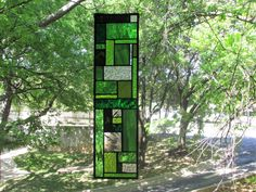 Stained Glass Panel by GKYCreations on Etsy