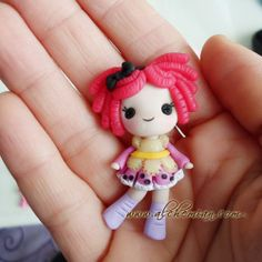 Cute doll inspired necklace. €25.00, via Etsy.