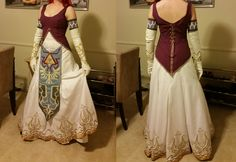 Remember me talking about this? I'm finally done! That's me wearing the costume, but its for a client. She wanted to do the jewelry and armor herself so I made all the fabric parts. Predictably the...