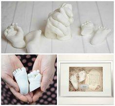 Babyabdruecke von Hand, Fuss selbermachen