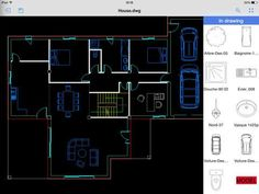 CAD Pockets by ZWCAD Software Co Ltd - ZWCAD Touch is the 1st CAD (Computer-Aided Design) application that integrates 3rd-party Cloud Storage Service (like Dropbox and SkyDrive) internally. - #cad #mobile #dwg #iphonecad #ipadcad