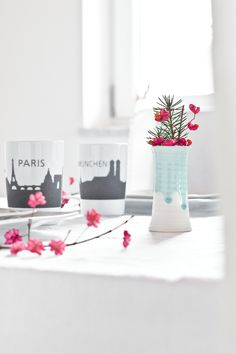 Table Setting with KAHLA touch! Skyline cups