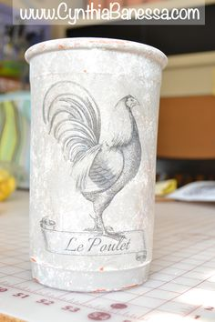 Cynthia Banessa | Transfer Clay Pots to Amazing Home Decor | http://cynthiabanessa.com