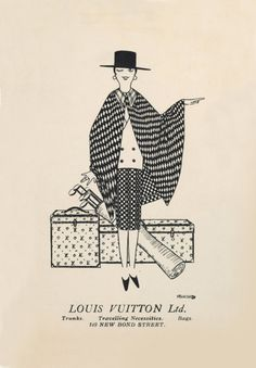 Illustration - Louis Vuitton, Ltd. // #WanderFreely