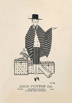 Illustration - Louis Vuitton, Ltd. // #WanderFreely